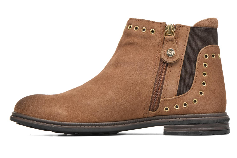 Bottines et boots Gioseppo Seminola Marron vue face