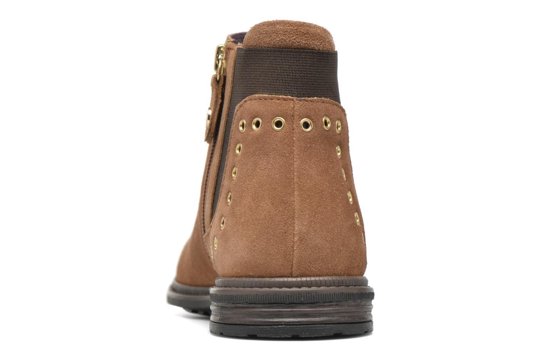 Bottines et boots Gioseppo Seminola Marron vue droite
