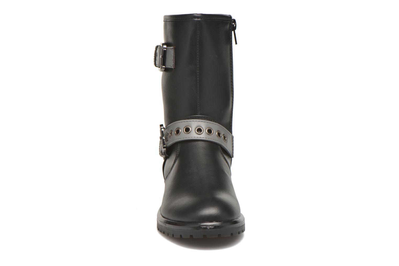 Bottes Gioseppo Forte Noir vue portées chaussures