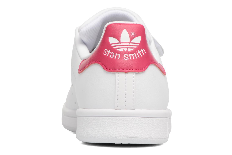 Baskets Adidas Originals Stan Smith Cf J Blanc vue droite