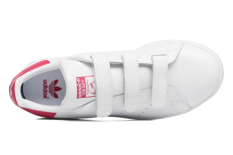 Baskets Adidas Originals Stan Smith Cf J Blanc vue gauche