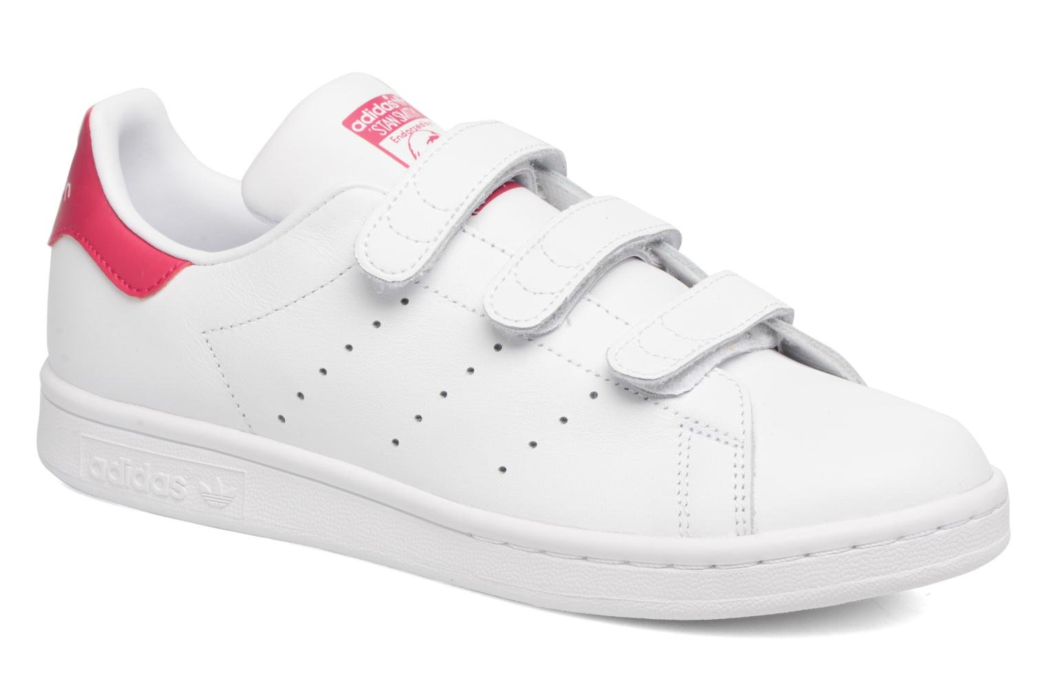 Whitegreen Adidas Originals Stan Smith Cf J (Blanc)