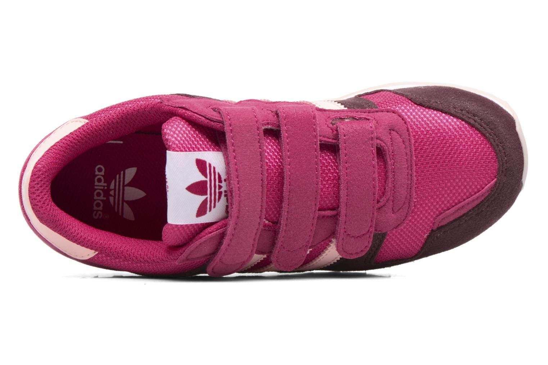 Baskets Adidas Originals Zx 700 Cf C Rose vue gauche