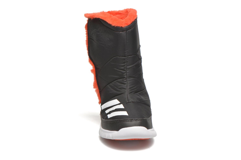 Stiefel Adidas Performance Lumilumi schwarz schuhe getragen