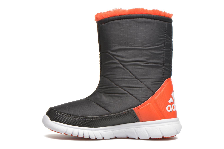 Stiefel Adidas Performance Lumilumi schwarz ansicht von vorne