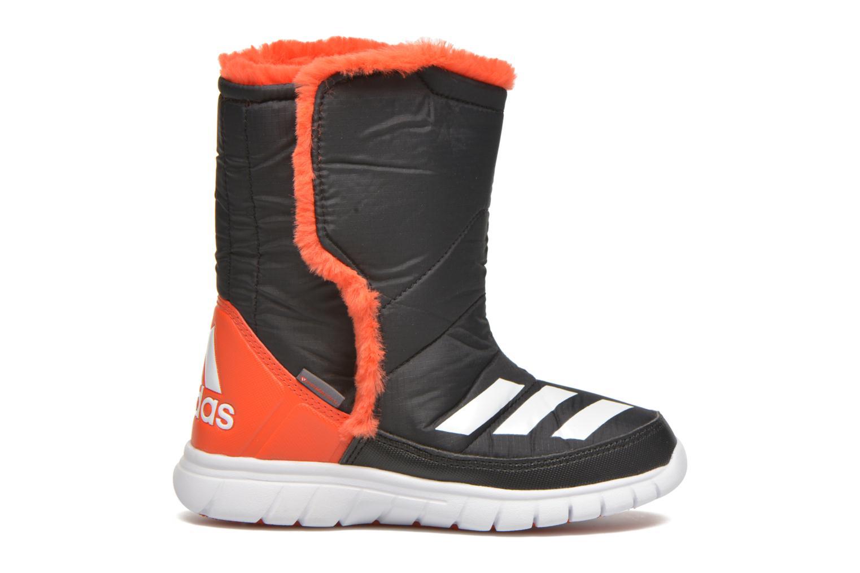 Stiefel Adidas Performance Lumilumi schwarz ansicht von hinten