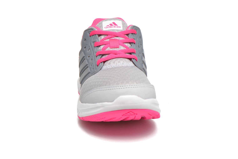 Baskets Adidas Performance Galaxy 3 k Rose vue portées chaussures
