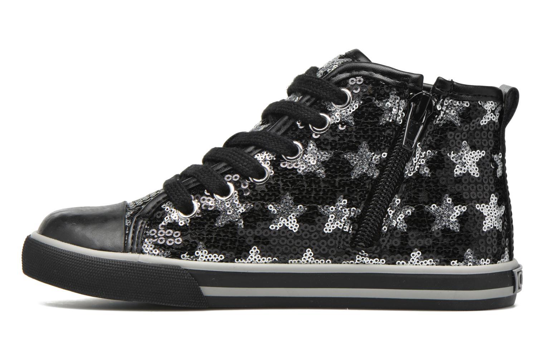 Sneaker Chicco Carmelita schwarz ansicht von vorne