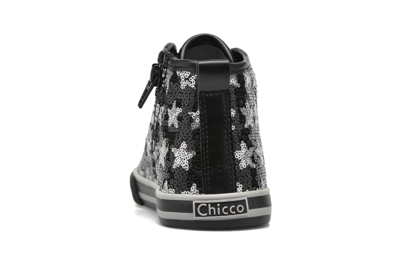 Sneaker Chicco Carmelita schwarz ansicht von rechts