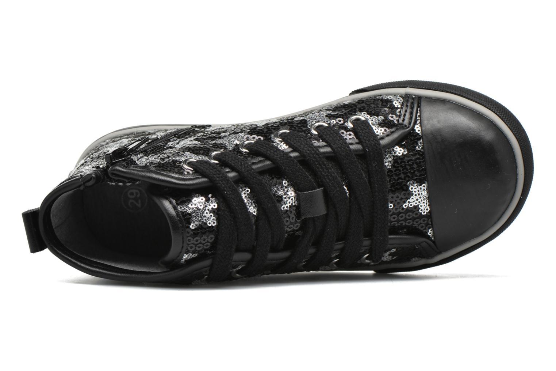 Sneaker Chicco Carmelita schwarz ansicht von links