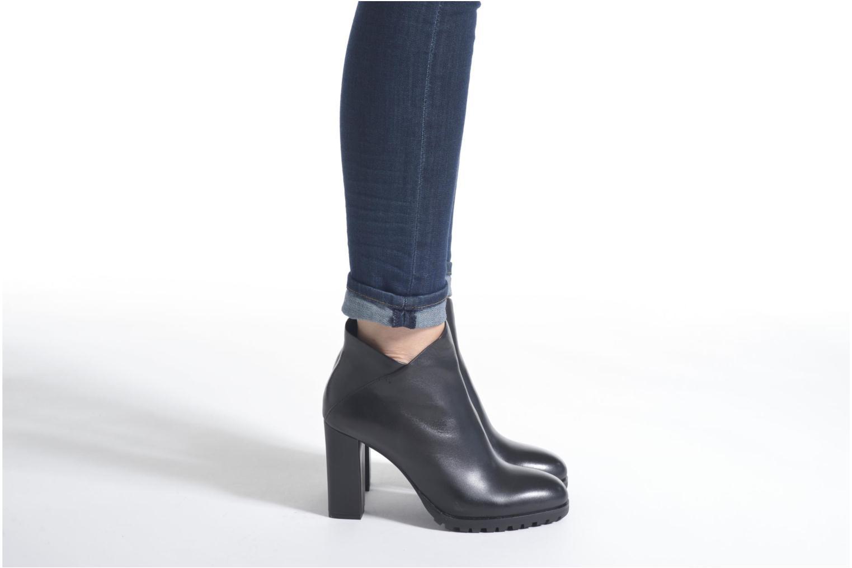 Bottines et boots Bruno Premi Aura Noir vue bas / vue portée sac