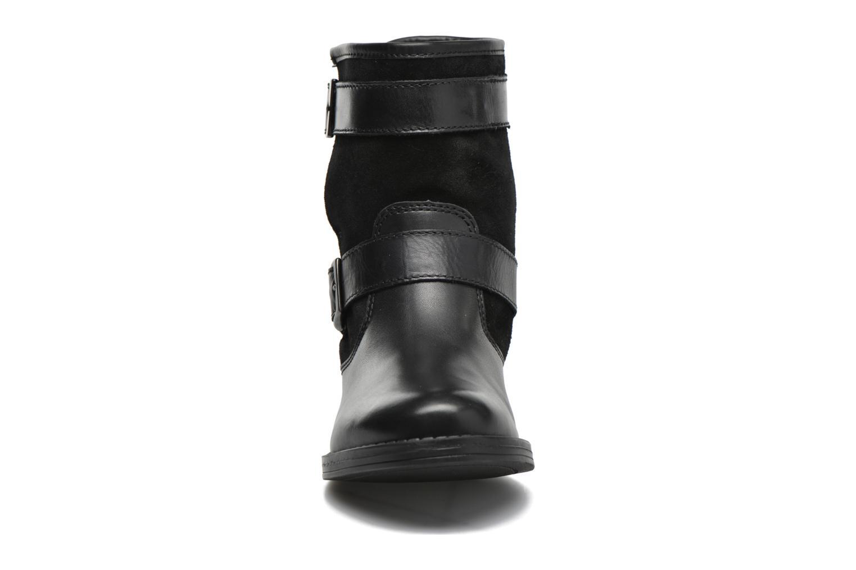 Bottines et boots Georgia Rose Celebi Noir vue portées chaussures