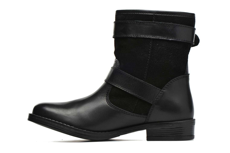 Bottines et boots Georgia Rose Celebi Noir vue face