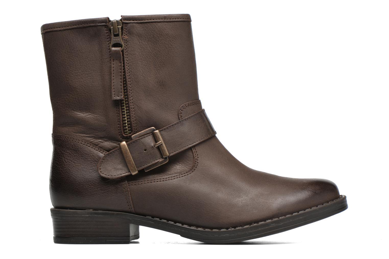 Bottines et boots Georgia Rose Celeste Marron vue derrière