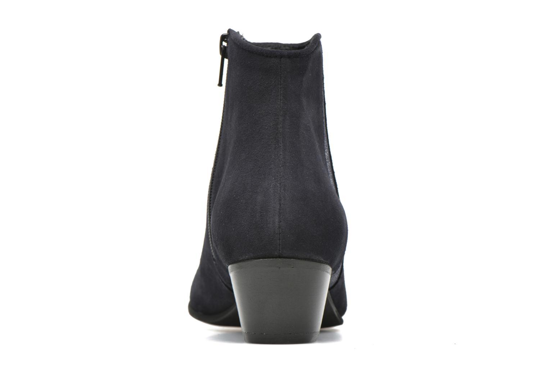 Bottines et boots Georgia Rose Celeri Bleu vue droite