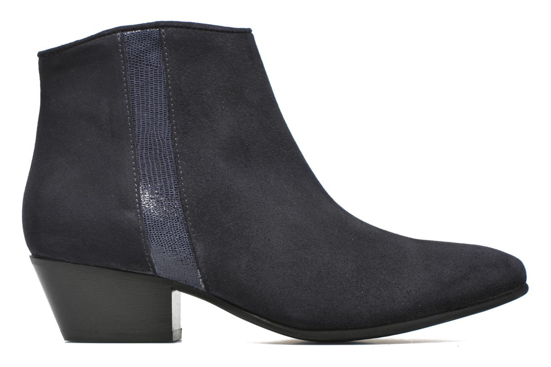 Bottines et boots Georgia Rose Celeri Bleu vue derrière