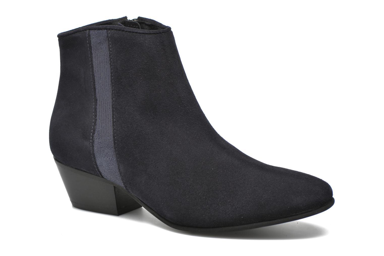 Bottines et boots Georgia Rose Celeri Bleu vue détail/paire
