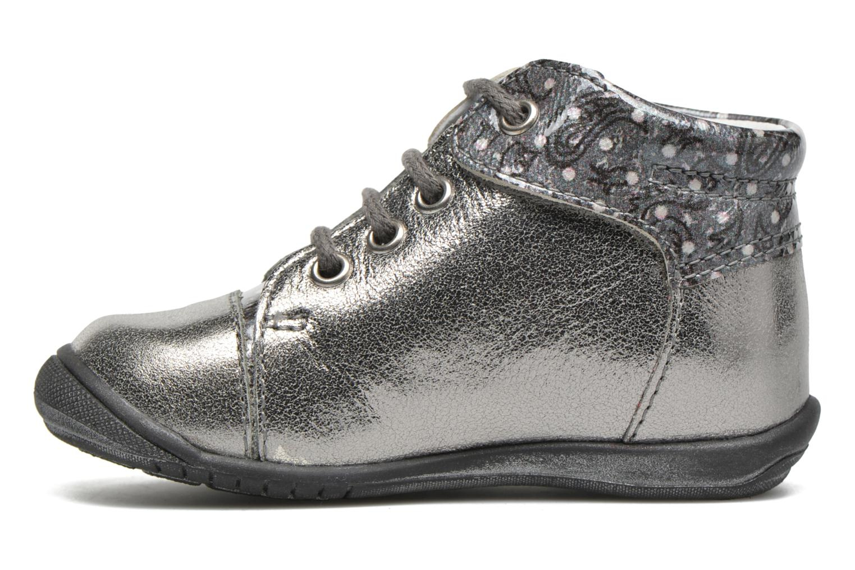 Zapatos con cordones GBB Nayana Gris vista de frente