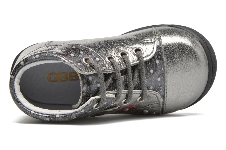 Zapatos con cordones GBB Nayana Gris vista lateral izquierda