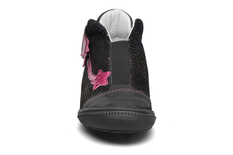 Chaussures à scratch GBB Nolween Noir vue portées chaussures