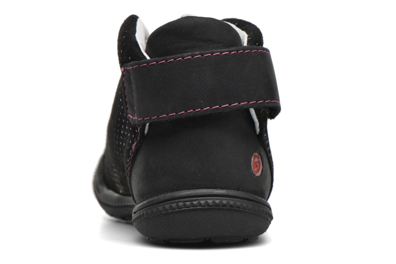 Chaussures à scratch GBB Nolween Noir vue droite