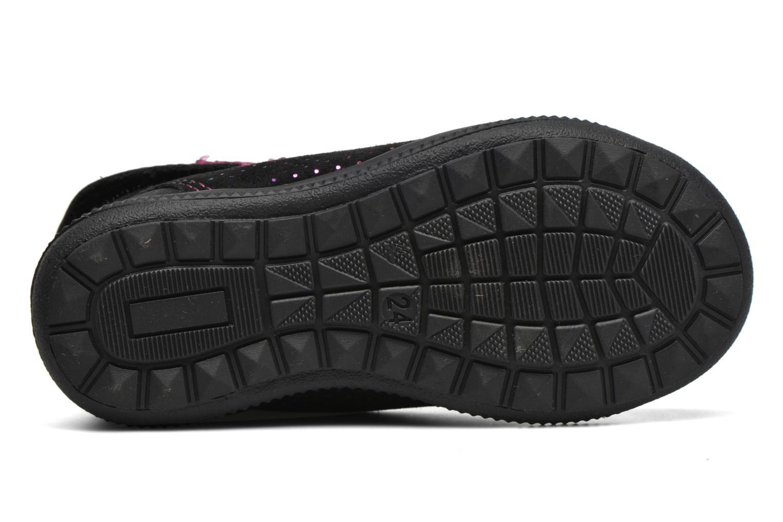 Chaussures à scratch GBB Nolween Noir vue haut