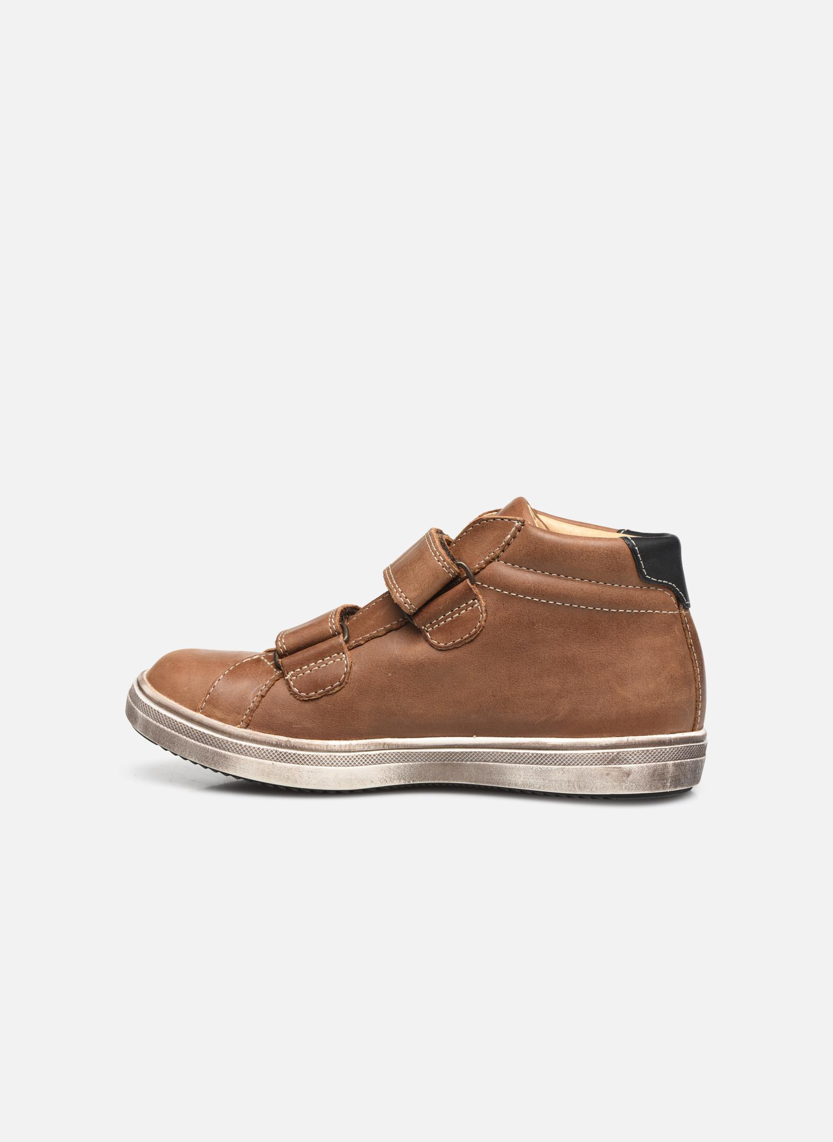 Sneaker GBB Nazaire braun ansicht von vorne