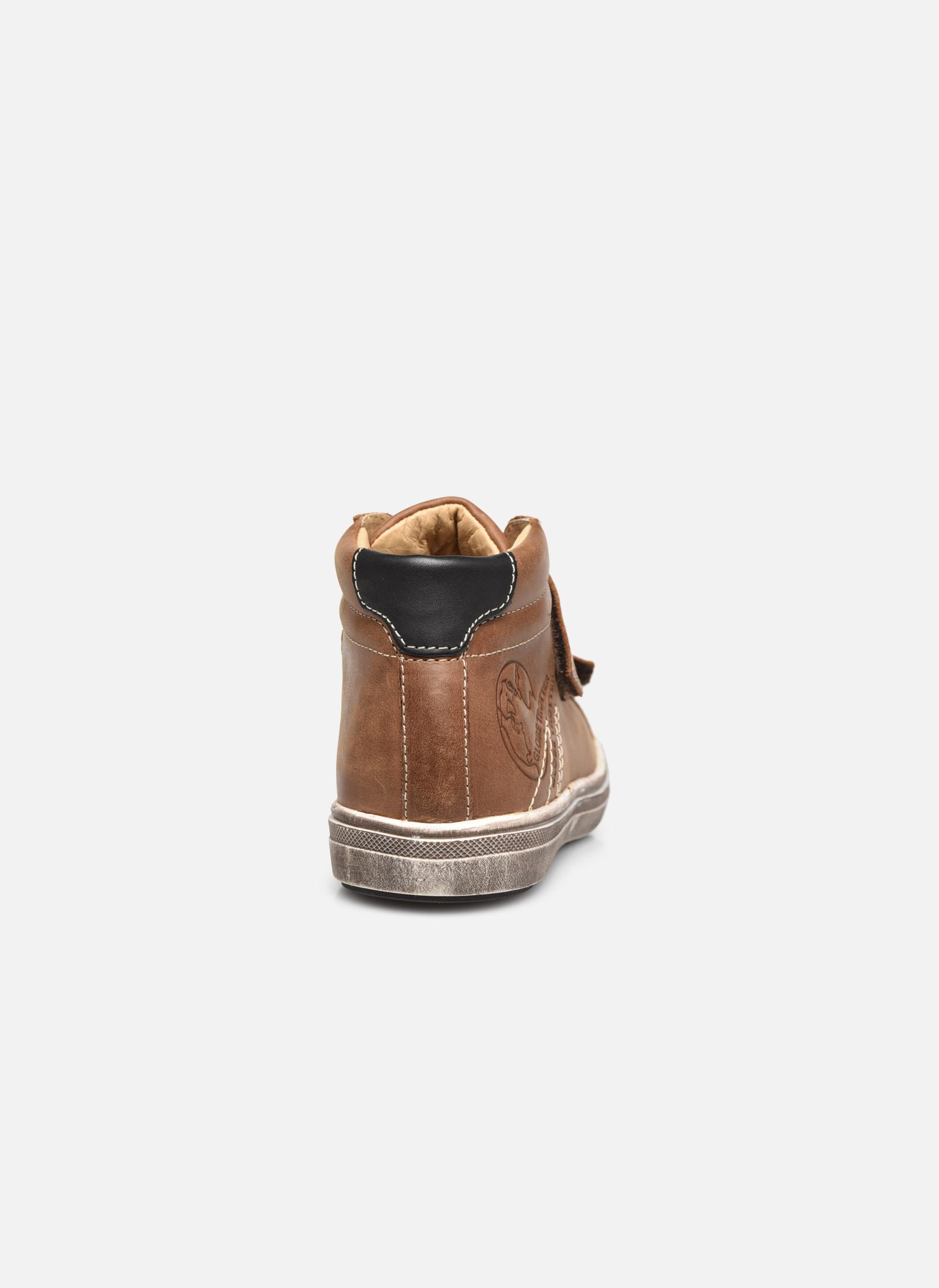 Sneaker GBB Nazaire braun ansicht von rechts