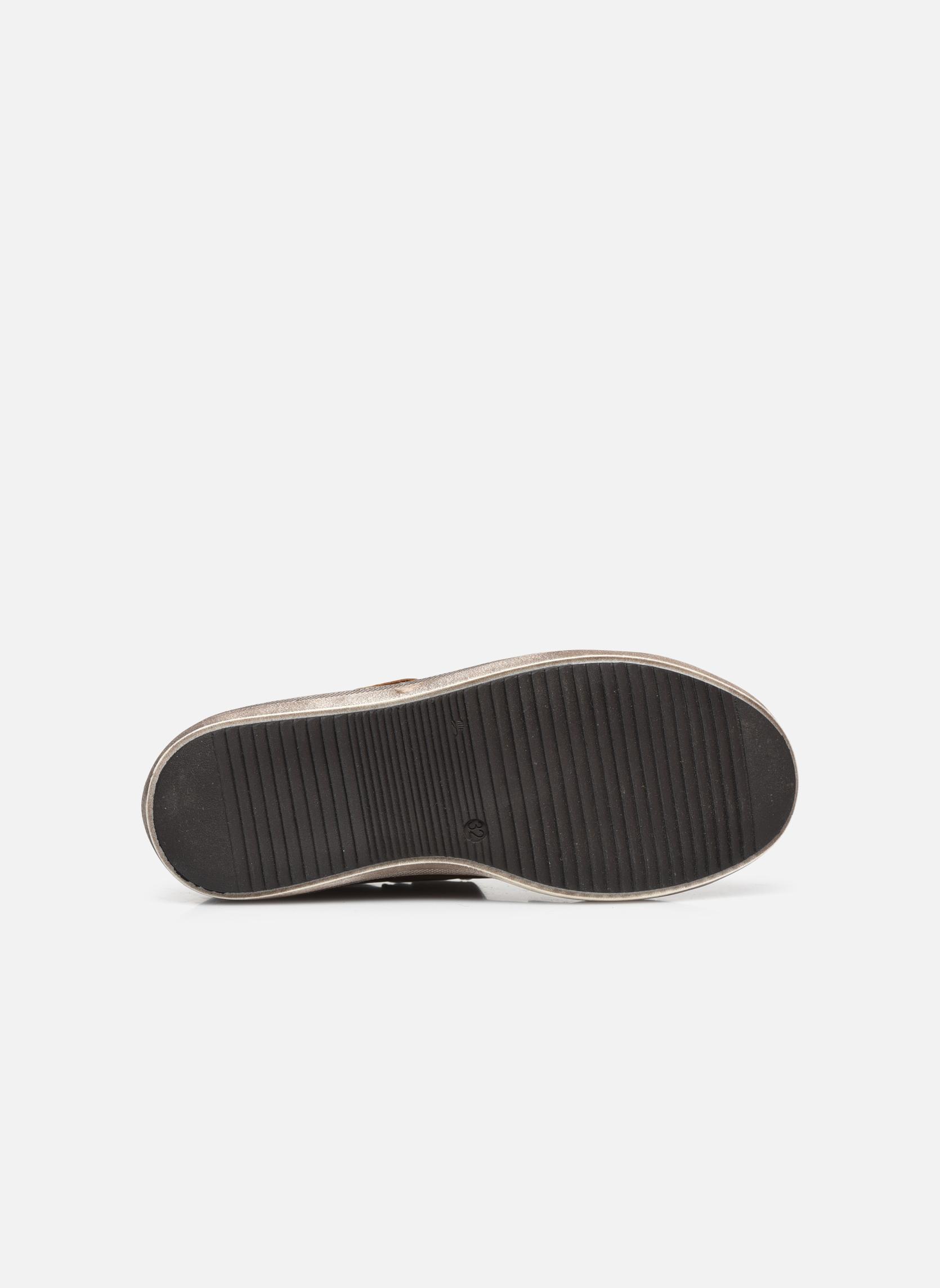 Sneaker GBB Nazaire braun ansicht von oben