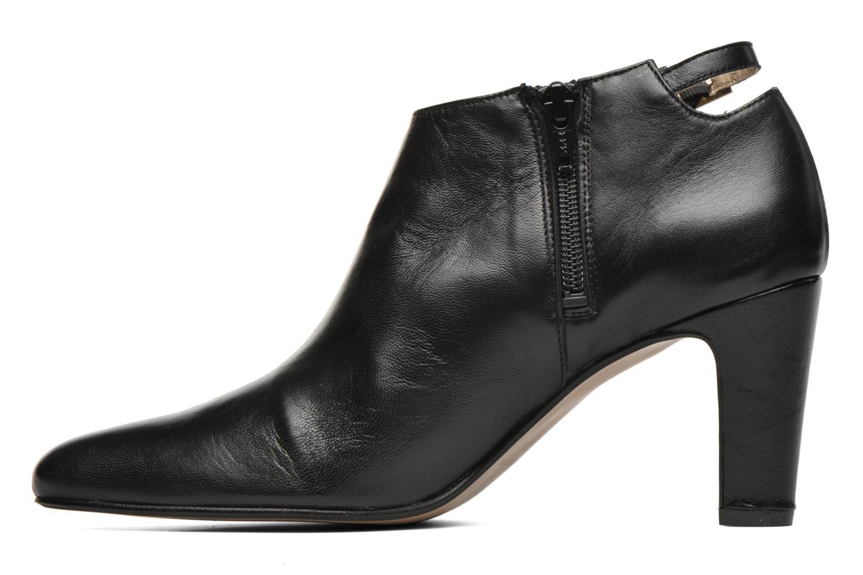 Bottines et boots Georgia Rose Siaboot Noir vue face