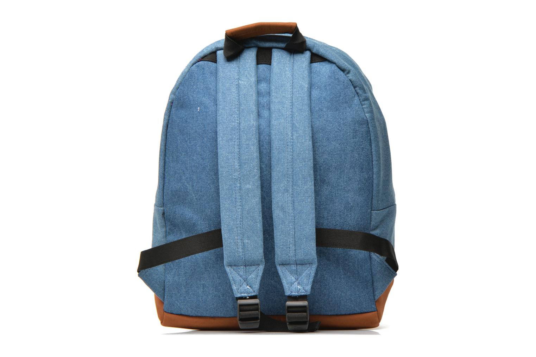 Mochilas Mi-Pac Premium Denim Azul vista de frente