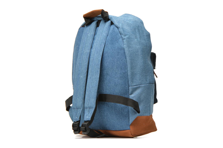 Mochilas Mi-Pac Premium Denim Azul vista lateral derecha