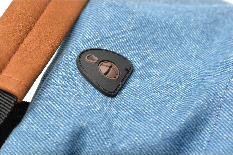 Sacs à dos Mi-Pac Premium Denim Bleu vue gauche