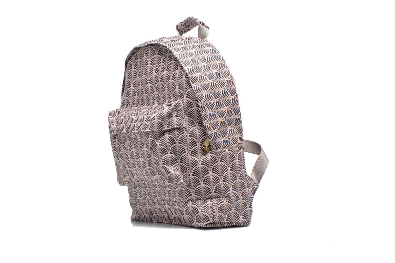 Sacs de sport Mi-Pac Gold Art Deco Backpack Beige vue portées chaussures