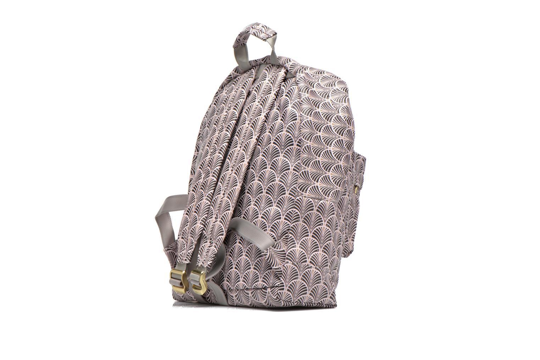 Sacs de sport Mi-Pac Gold Art Deco Backpack Beige vue droite