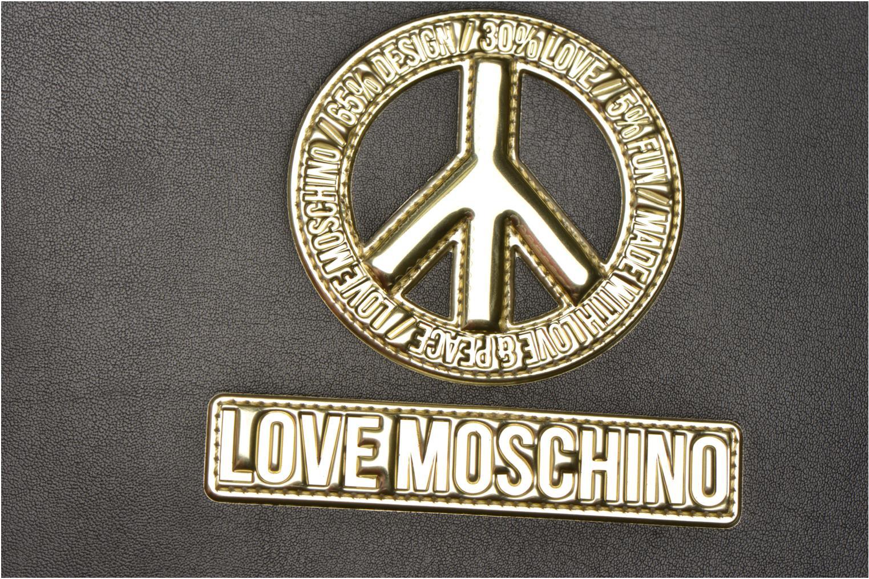 Altro Love Moschino Ipad clutch Nero immagine sinistra