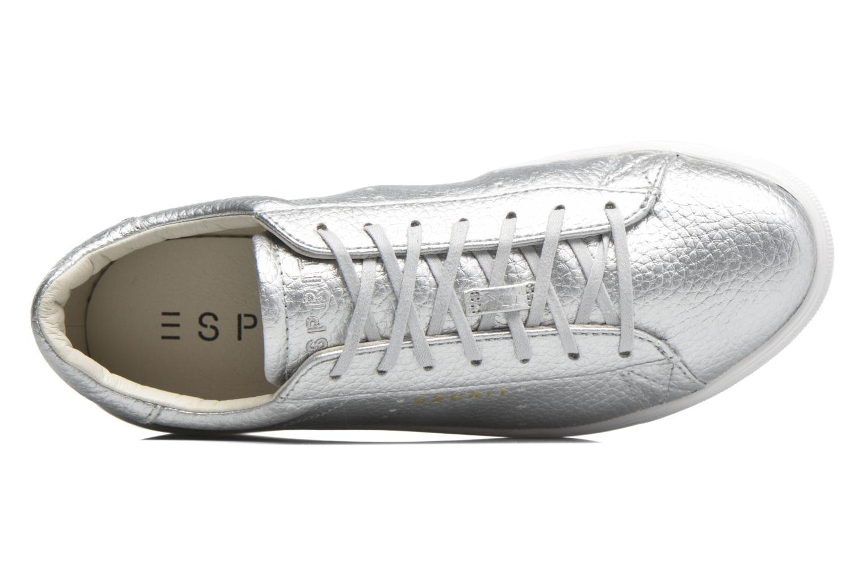 Sneaker Esprit Lizette Lace Up silber ansicht von links