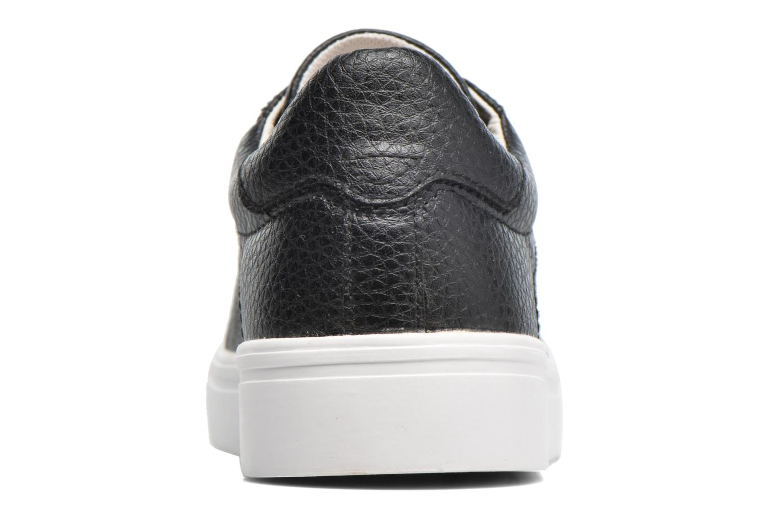 Trainers Esprit Lizette Lace Up Black view from the right