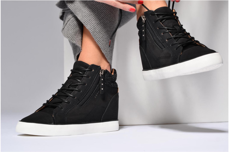 Sneakers Esprit Star Wedge 2 Bordeaux onder