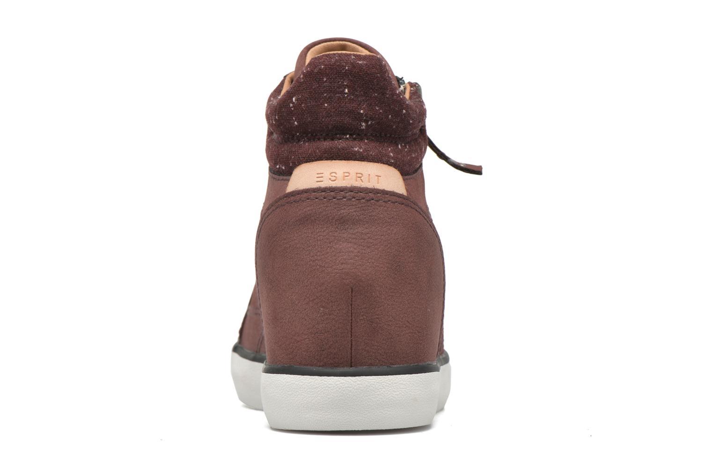 Sneaker Esprit Star Wedge 2 weinrot ansicht von rechts