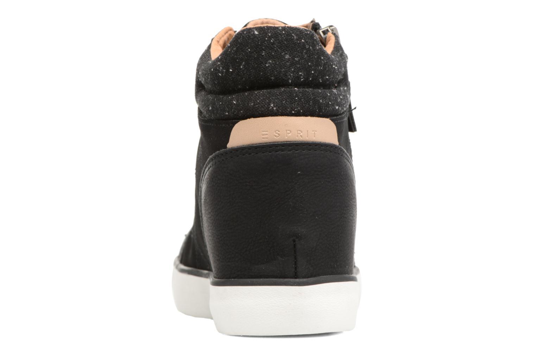 Baskets Esprit Star Wedge 2 Noir vue droite
