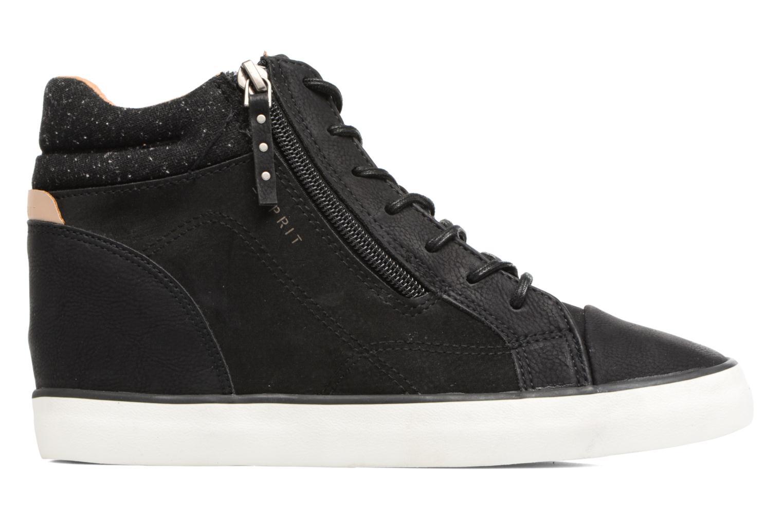 Sneakers Esprit Star Wedge 2 Zwart achterkant