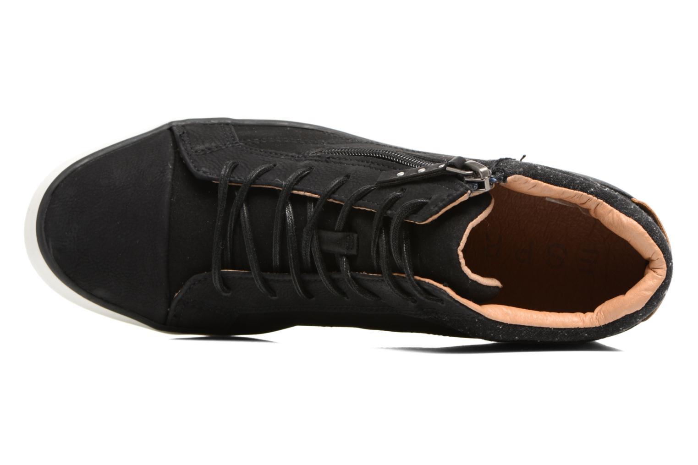 Sneakers Esprit Star Wedge 2 Zwart links