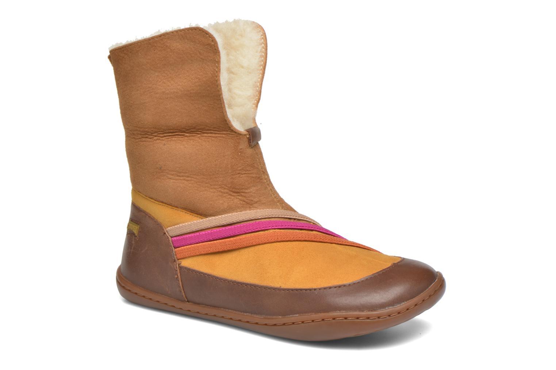 Bottines et boots Camper TWS Wool Marron vue 3/4