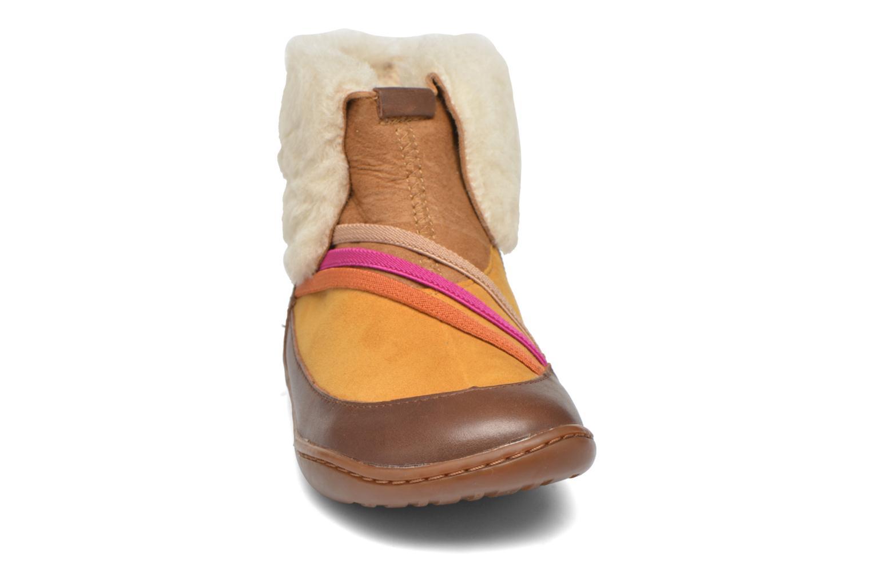 Bottines et boots Camper TWS Wool Marron vue portées chaussures
