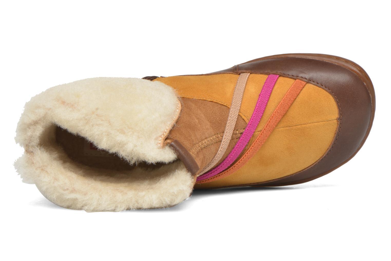Bottines et boots Camper TWS Wool Marron vue gauche