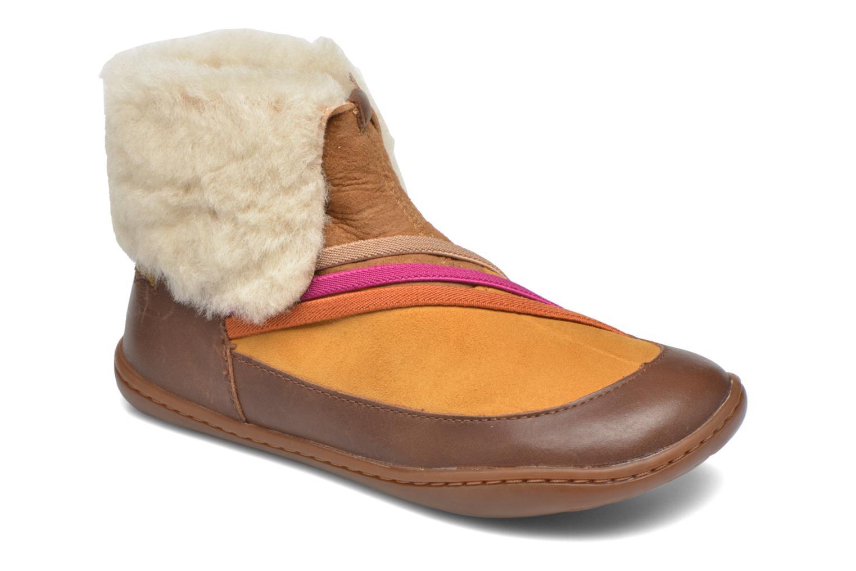 Bottines et boots Camper TWS Wool Marron vue détail/paire