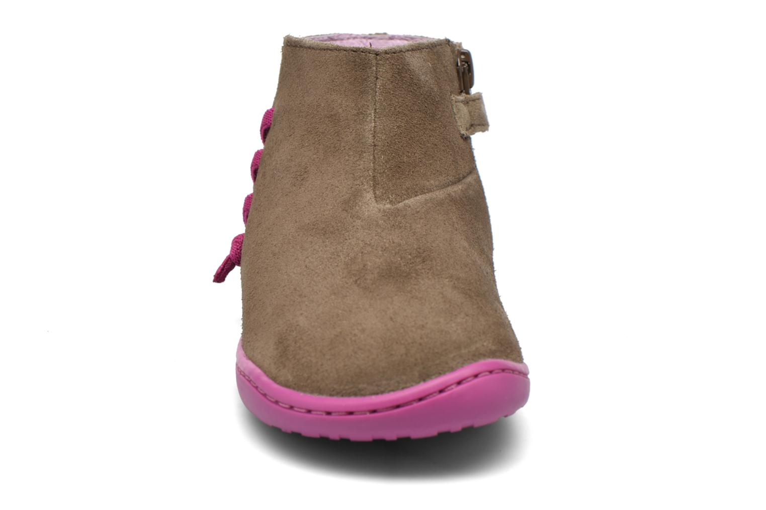 Ankle boots Camper Peu Cami 3 Brown model view