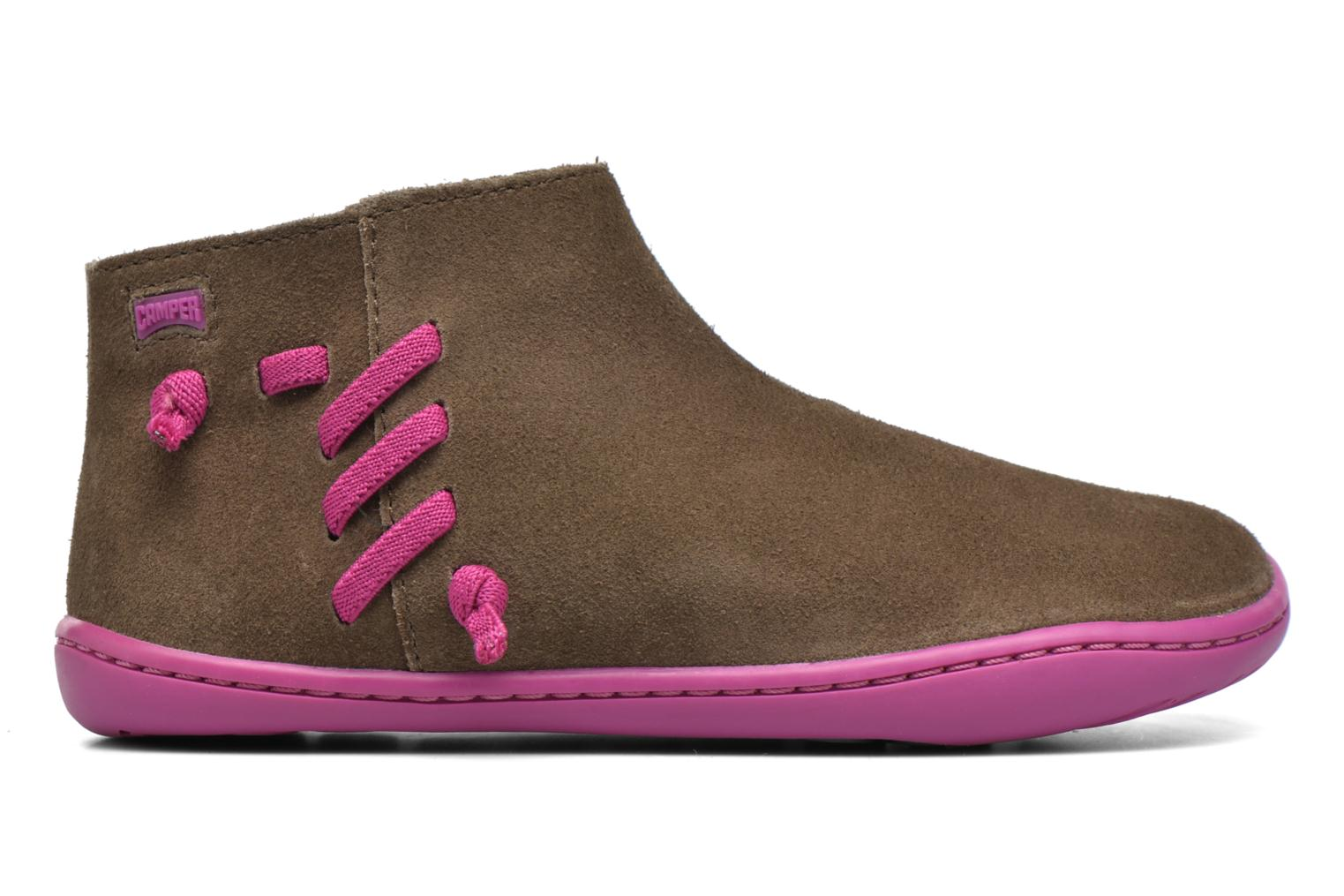 Ankle boots Camper Peu Cami 3 Brown back view