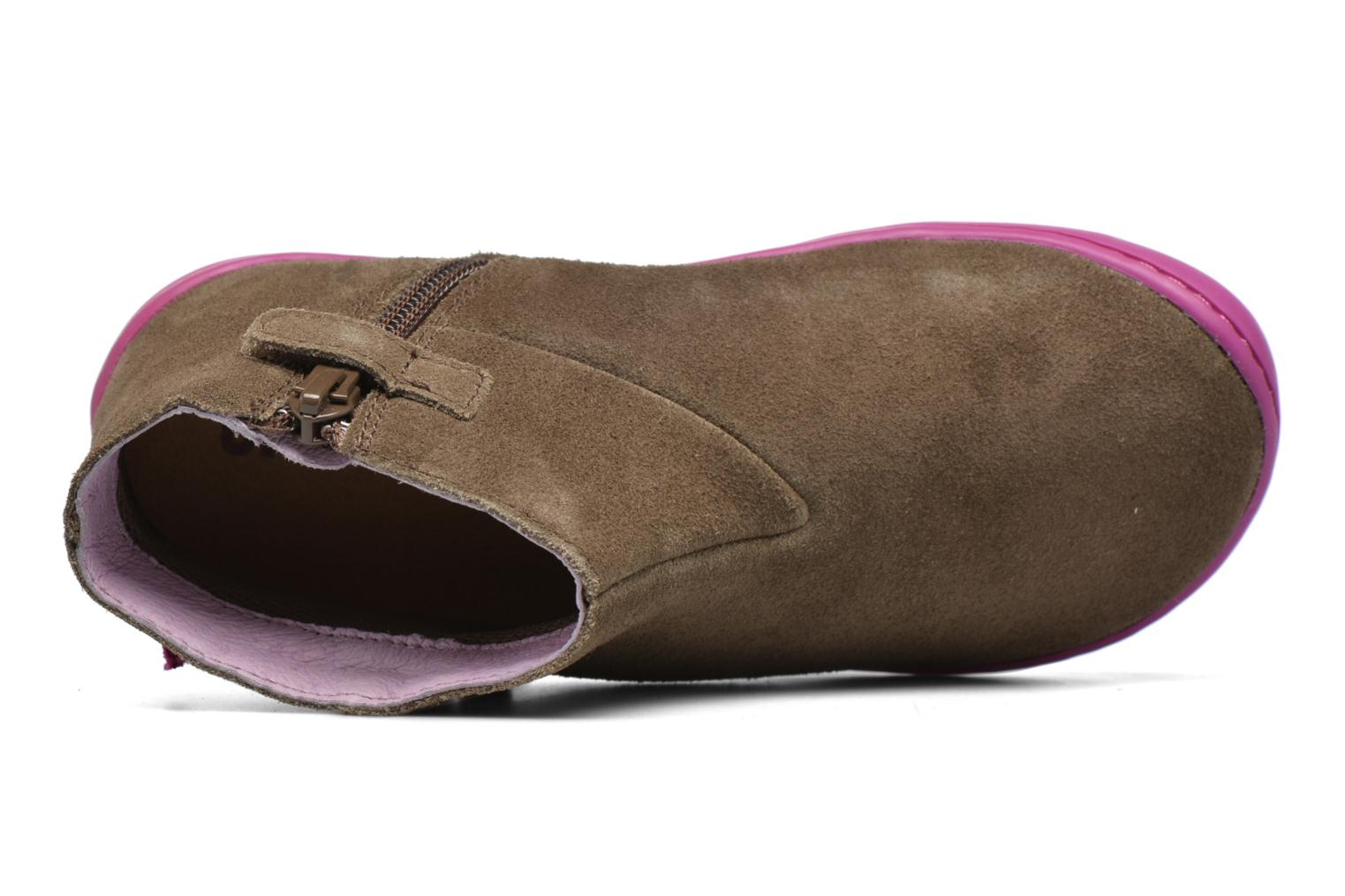 Ankle boots Camper Peu Cami 3 Brown view from the left